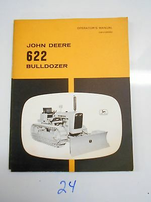 John Deere 622 Bulldozer Operators Owners Manual Om-u12899u