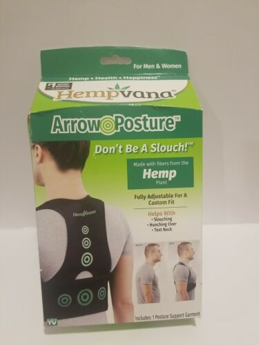 arrow posture adjustable posture support garment s