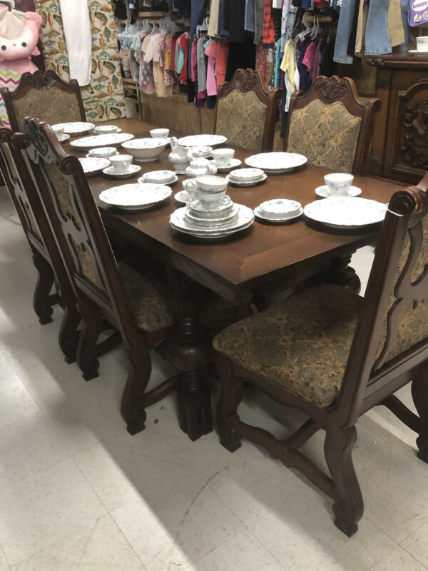 Vintage German Imported Dining Room Set