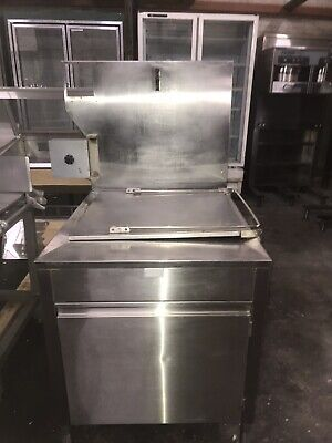 Avalon Adf24-g-ba W Submerger Natural Gas 24 X 24 Donut Fryer