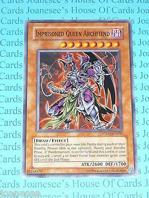 (Imprisoned Queen Archfiend PTDN-EN032 Common Yu-Gi-Oh Card Mint (U) New)