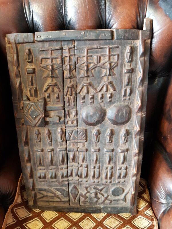 Dogon Wooden Window - Mali-