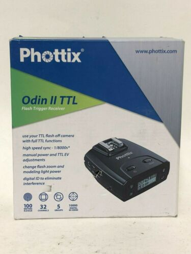 Phottix Odin II TTL Flash Trigger Receiver for Canon - Open Box