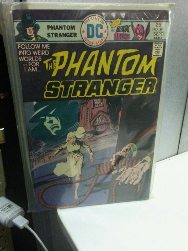 The Phantom Stranger #38 (1975) NM+ DC Key Issue Comic Bronze Age Black Orchid