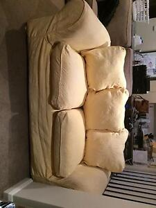 3 Seater-gorgeous sunflower couch! North Strathfield Canada Bay Area Preview
