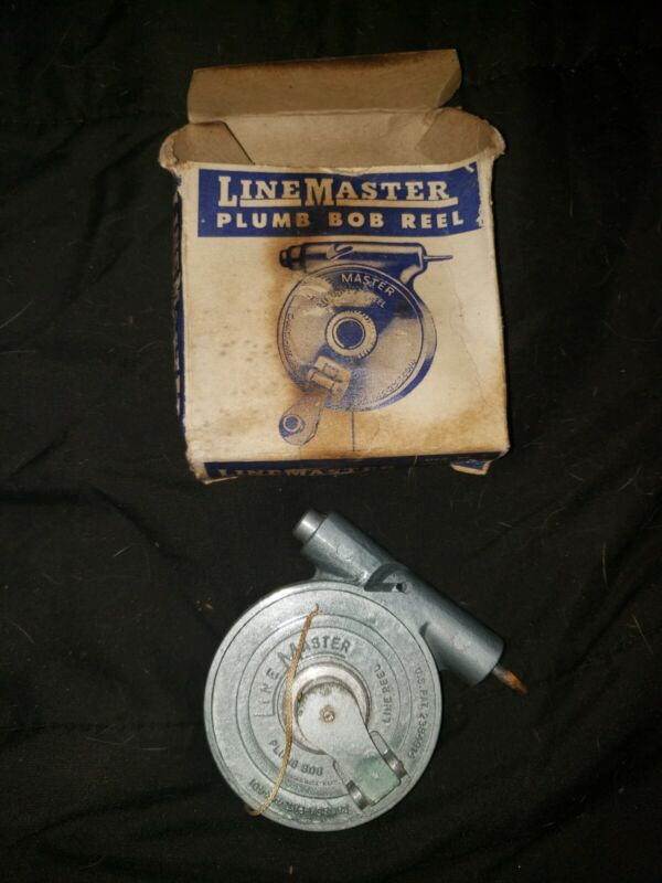 Vintage Line Master Reel w/ Cord attached, New