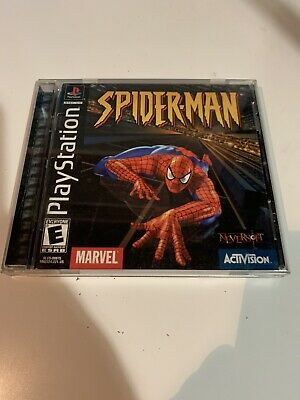 Spider-Man (PlayStation 1 2000) GH PS1 PS2 PS3 CIB Great Condition!!
