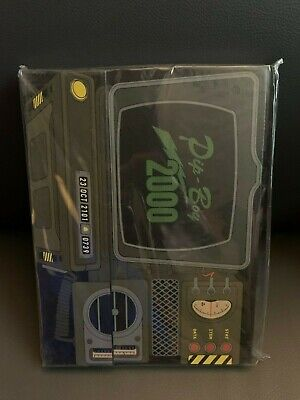 New Fallout 76 Pip-Boy Model 2000 MK VI Faux Leather Journal Vault-Tec Corp.
