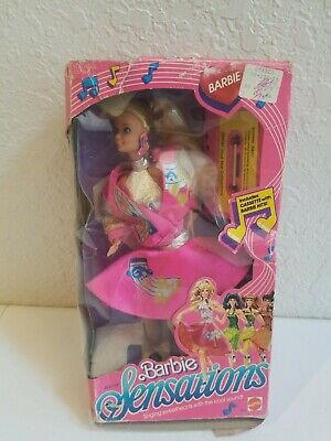 Barbie and the Sensations by Mattel #4931 from 1987 Pop Stars w/ 80's Sound