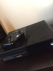 Brand new condition Xbox one with games