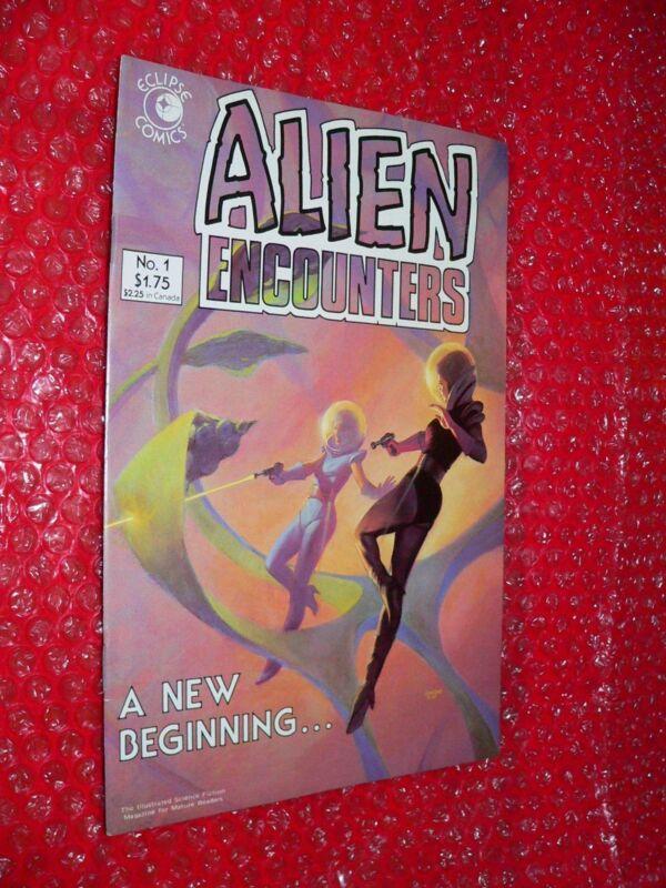 Alien Encounters #1 comic 1985 Eclipse