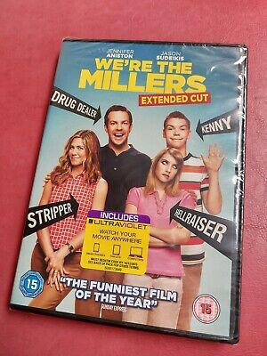 We're The Millers Extended Cut [2013] (DVD) Jennifer Aniston NEW SEALED