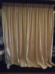 4 x Pencil Pleat Curtains - 1800mm wide Glen Waverley Monash Area Preview