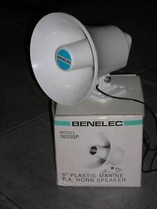 """5"""" inch Plastic Marine PA Horn Speaker Benelec Model 08205P Alice Springs Alice Springs Area Preview"""