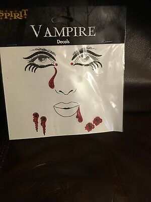 Halloween Vampire Faces (Vampire Face Decals By Spirit)