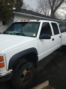 97 GMC Sierra 3500 dually