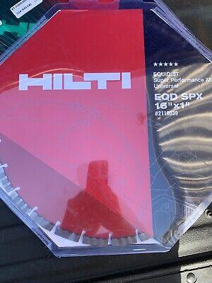 Hilti 2118039 Cutting Disc Eqd Sp 16x1 Universal Cutting Sawing Grinding