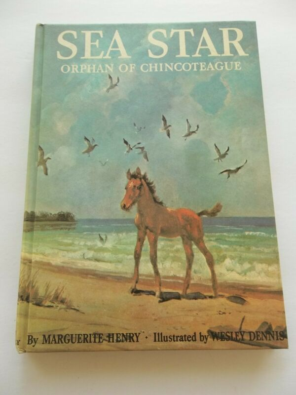 SEA STAR Orphan of Chincoteague Henry A WORLD FAMOUS HORSE STORY LIBRARY
