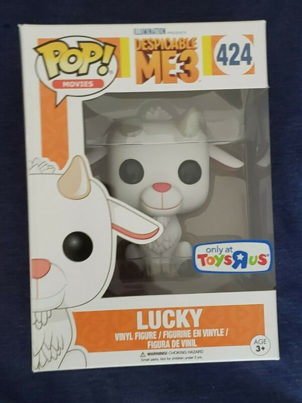 Despicable Me 3 LUCKY the Goat Figure RARE New In Package
