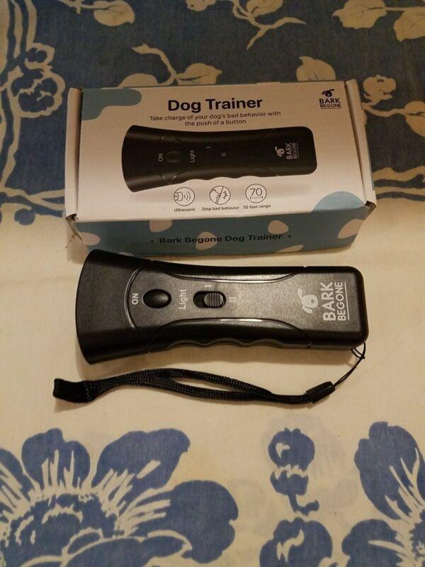 Bark Be Gone Ultrasonic Dog Trainer