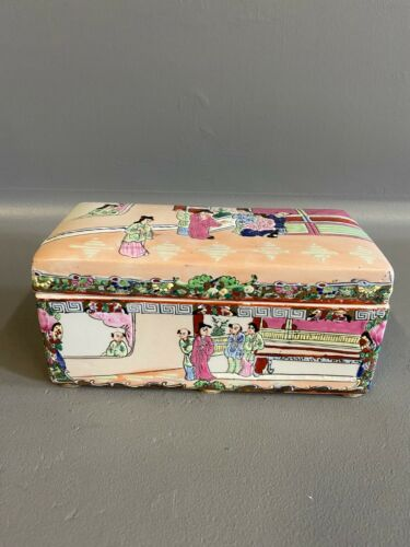 Asian Ceramic Keepsake Box