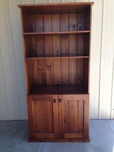 Pine Entertainment Unit, Walnut in colour Drouin Baw Baw Area Preview