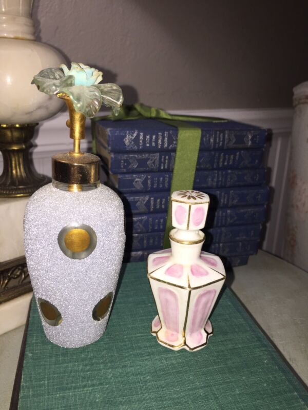 Vintage Perfume Bottles Bundle 2 DeVilbiss Irice