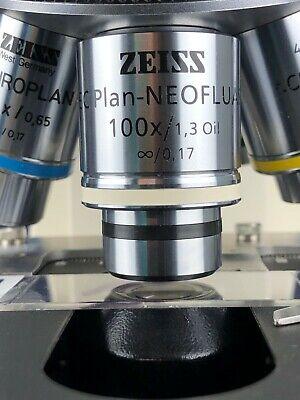 Zeiss Ec Plan Neofluar 100x1.3 Oil 0.17 Microscope Objective Rms Thread 103