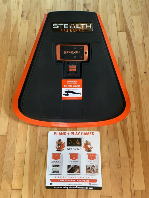 Stealth Personal Core Trainer Plank Workout Fitness Board