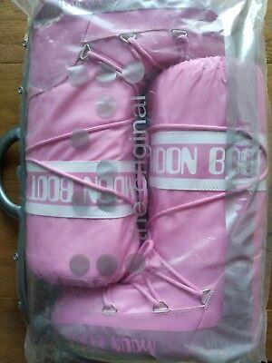 Moon Boot stivale da neve pink ROSA in nylon 35/38 nuovi