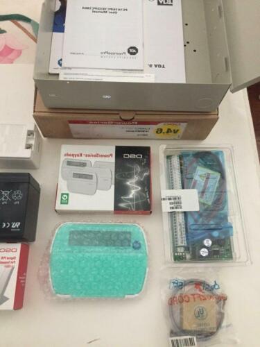 -DSC Security systems PC1864 + PK5501+ PIR KIT alarm panel keypad
