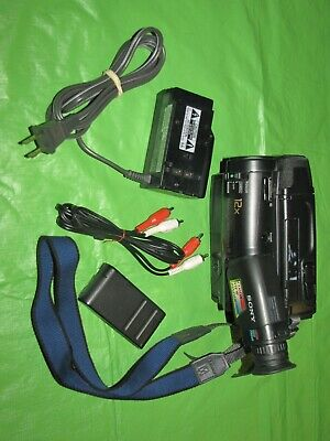 Sony Handycam CCD-TR33 Video 8MM Camcorder -  Record Transfer Watch Video8 Tapes