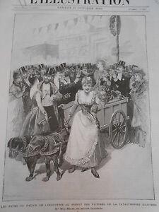 Gravure-1889-Fetes-au-Profit-de-la-Catastrophe-d-039-Anvers