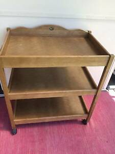 Wooden Baby change table Warrimoo Blue Mountains Preview