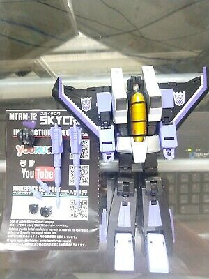 Maketoys Skycrow MTRM-12 Transformers 3rd Party Masterpiece Skywarp USA
