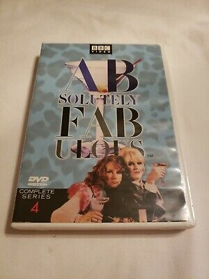 Absolutely Fabulous - Series 4 (DVD, 2002, 2-Disc Set, Two Disc Set)