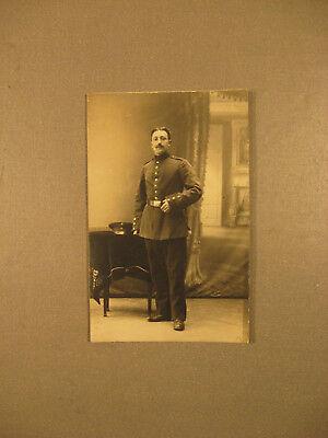 Soldat in Paradeuniform.Privatpostkarte 1.WK.ca.1915-Antic Soldier 1.WK