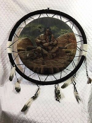 The Warriors Path Indian Large Dreamcatcher 24