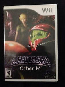 Metroid prime other m Nintendo wii