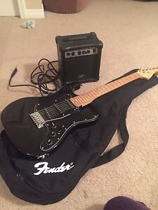 Kirk Hammett electric guitar and amp