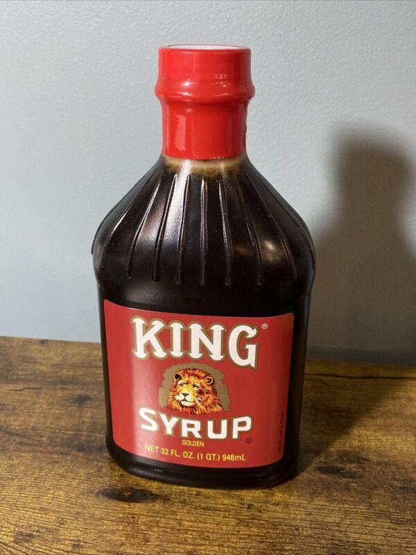 Kings Syrup Golden NEW 32 Oz Bottle Exp 9/8/22⭐️Condiment, Pancakes, Breakfast⭐️