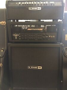 Traynor and Line6 Heads. Line6 4x12 Cab