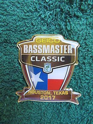 2017 Bassmaster Classic Pin   Houston  Texas