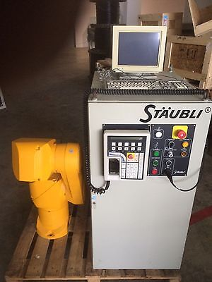 Staubli Rx90 Robot Arm With Cs7 Rx90 Controller And Tech