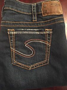 Ladies Silver Aiko Jeans