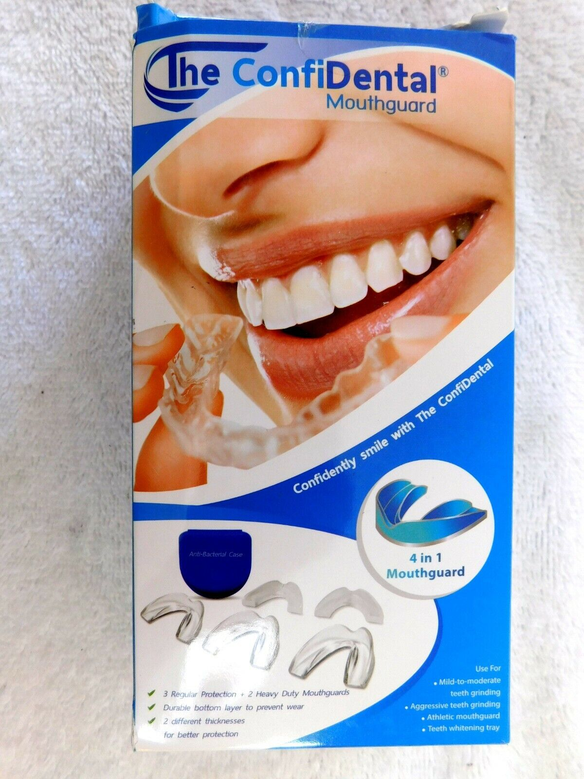 The ConfiDental - Pack of 5 Moldable Mouth Guard for Teeth G