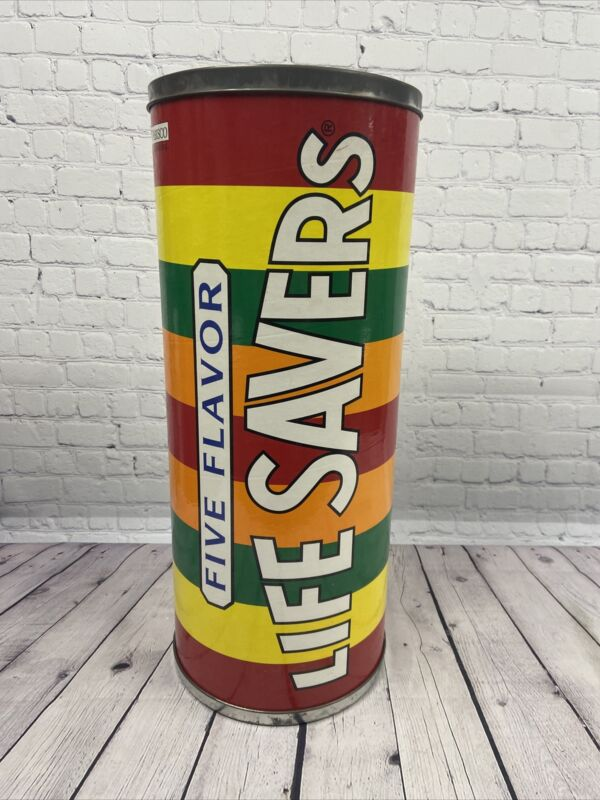 "VTG Life Savers Candy Store Advertising Display Large 25"" Based On 1946 Design"