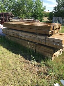 Treated lumber sale