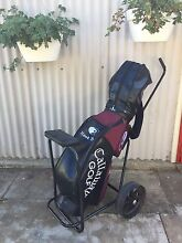 Callaway Big Bertha RH Clubs, Full Set (plus bag and buggy) Rosewater Port Adelaide Area Preview