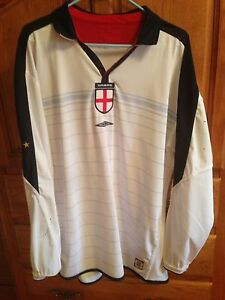 England 2003-2005 National Reversible Football Jersey St. John's Newfoundland image 2